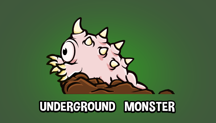 Underground monster