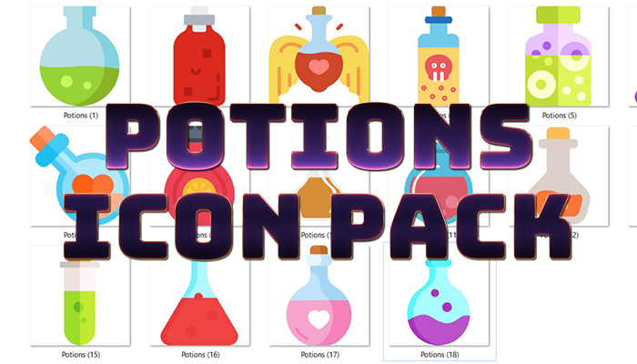 Potions Icon Pack