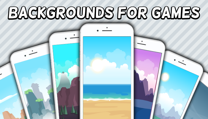 9 2D GAME BACKGROUNDS