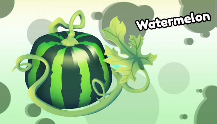 Watermelon for isometric games