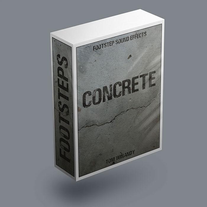 Footsteps SFX – Concrete / Rock