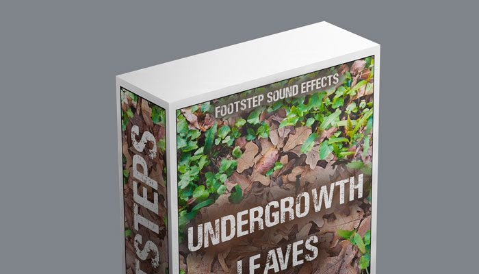 Footsteps Sound FX – Undergrowth / Leaves