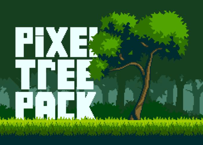 PixelArt Tree Pack