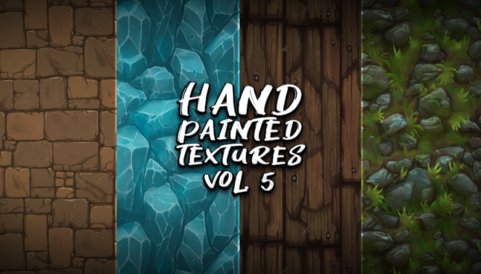 Hand Painted Textures Vol.5