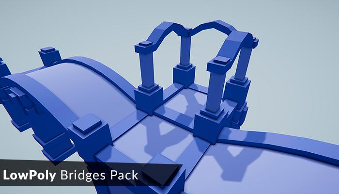 Low Poly Bridges Pack