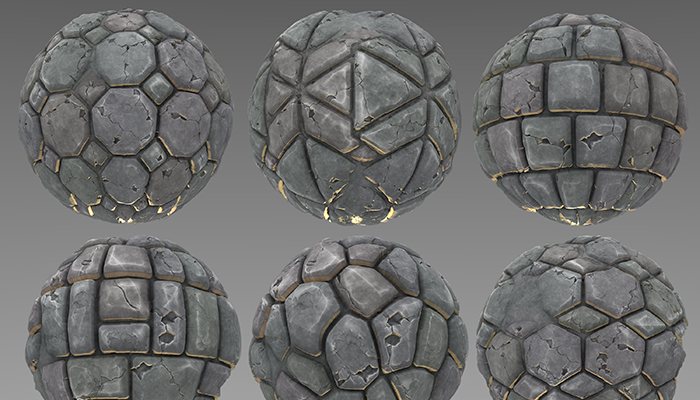Stylized Pavement Materials Vol 01