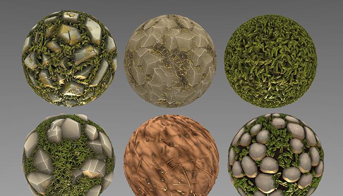 Stylized Ground Materials
