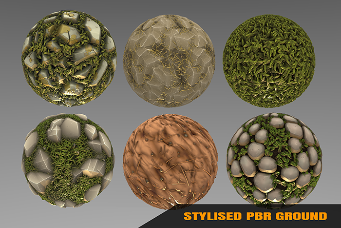 Stylized Ground Materials