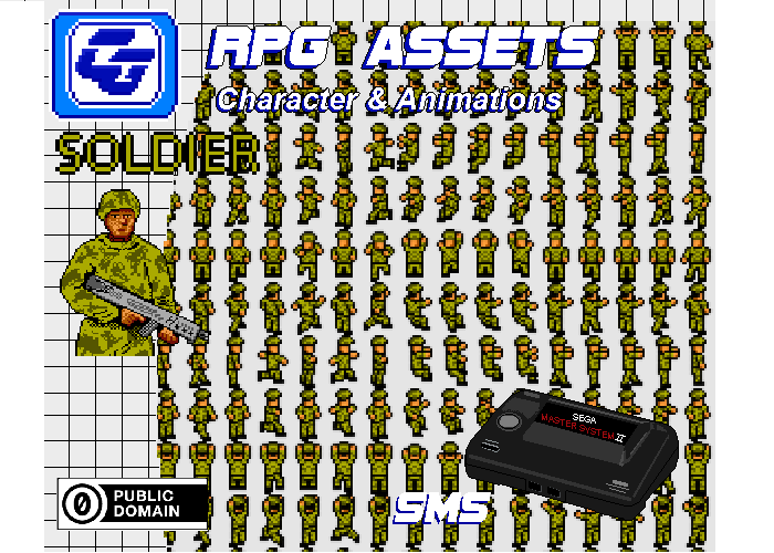 RPG Asset Character 'Soldier'