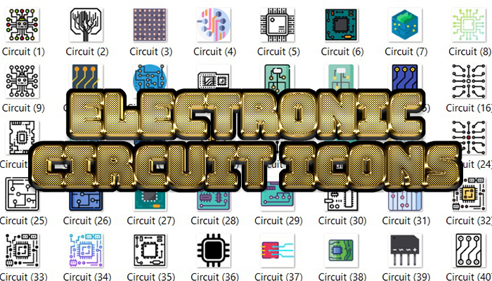 Electronic Circuit Icons