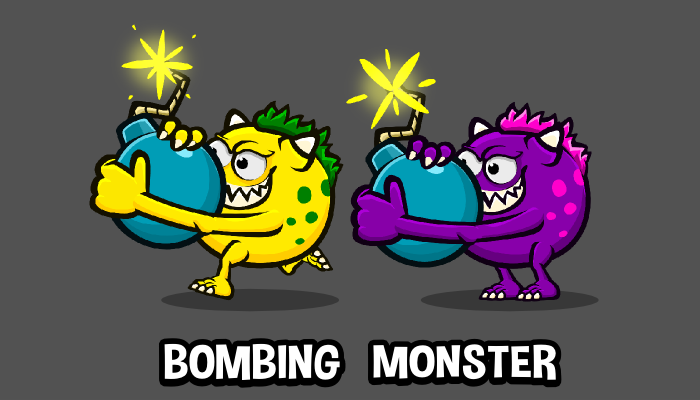 Bombing monster one