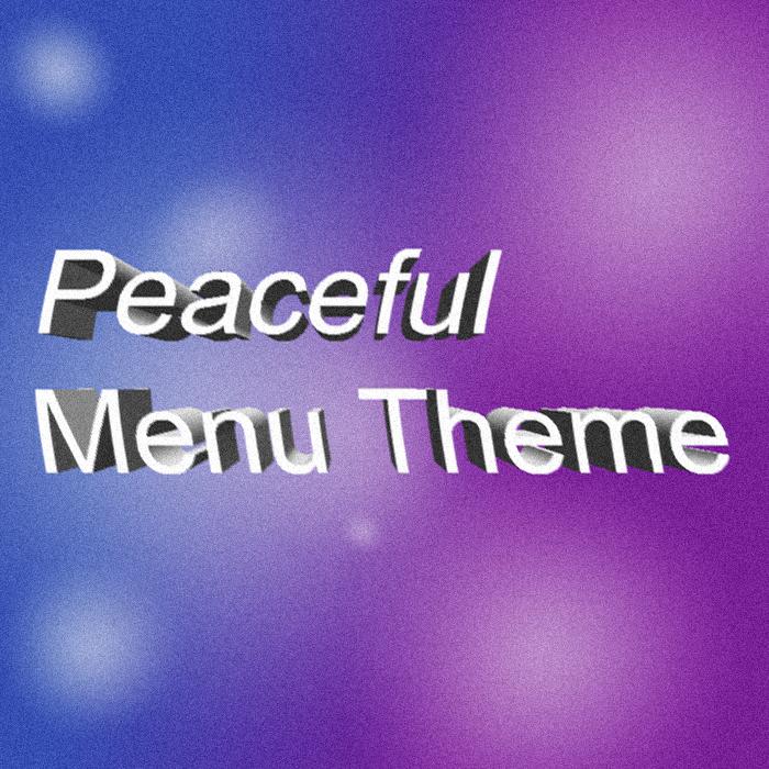 Peaceful Fantasy Menu Theme