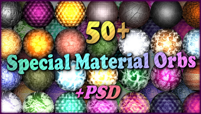 50+ Special Material Orbs (Real Look!)