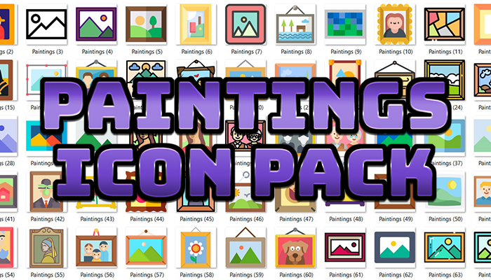 Paintings Icon Pack