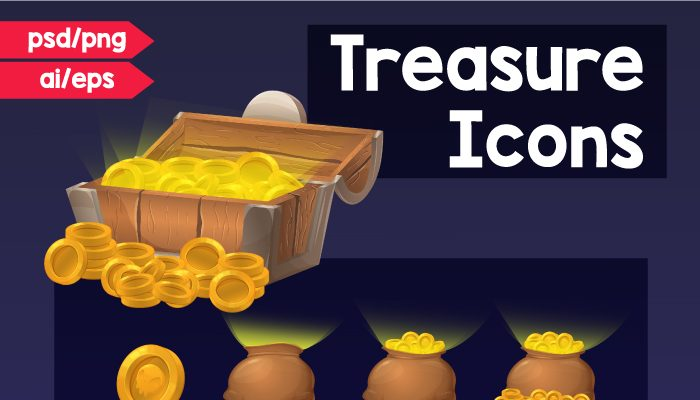 Treasure Icons