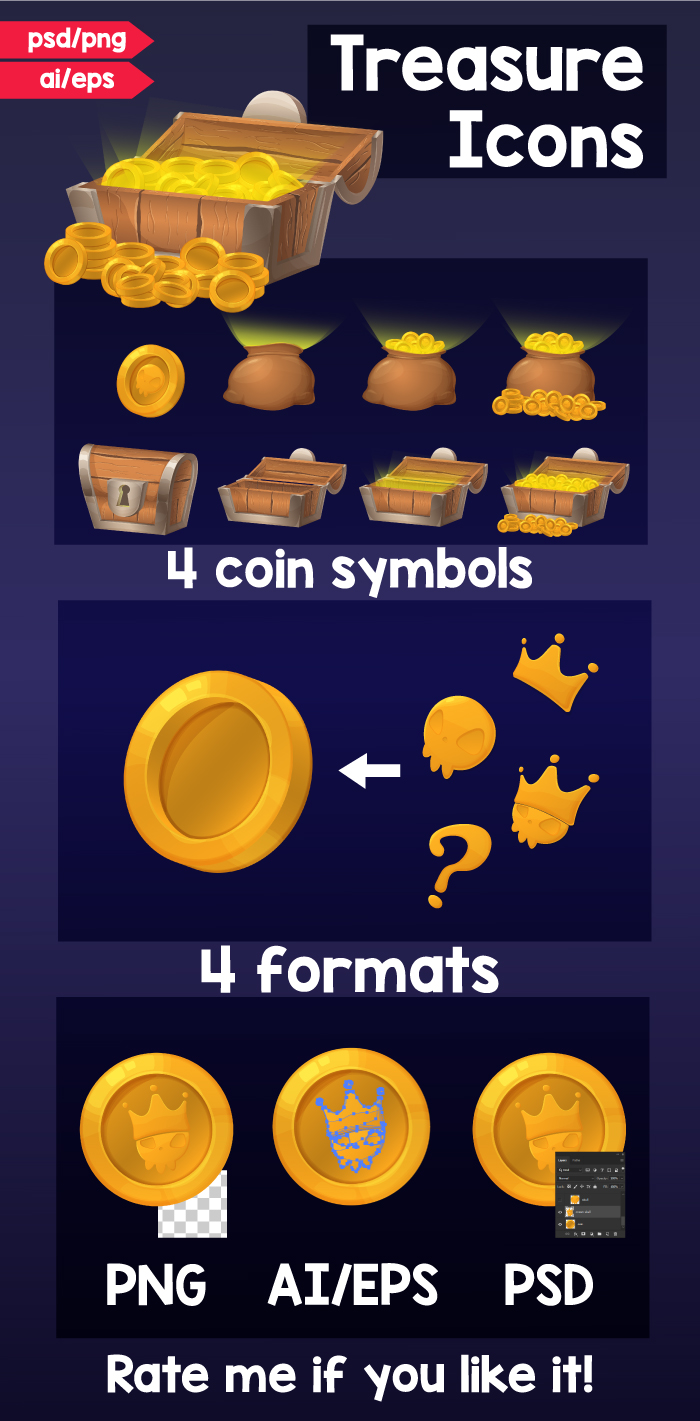 Treasure Icons
