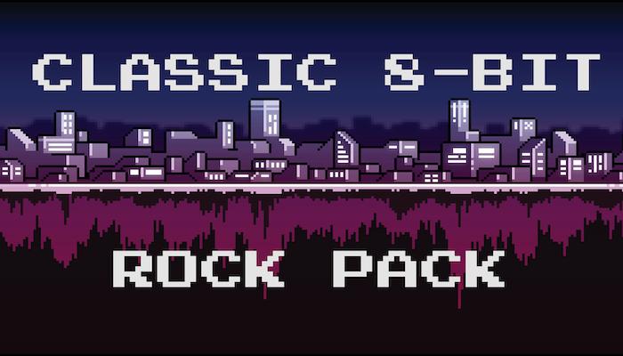 8-Bit Classic Rock Pack
