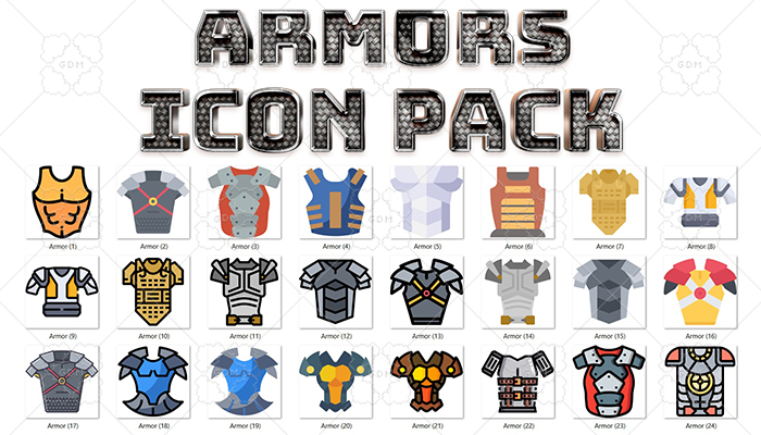 Armors Icon Pack