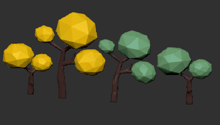 Low Poly tree`s