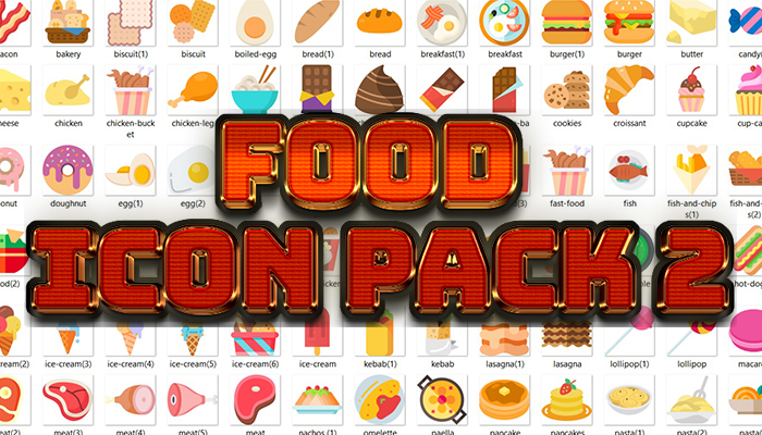 Food Icon Pack 2