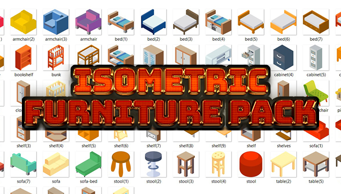 Isometric Furniture Pack