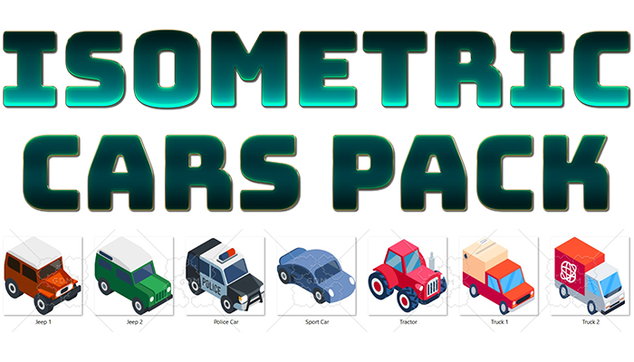Isometric Cars Pack