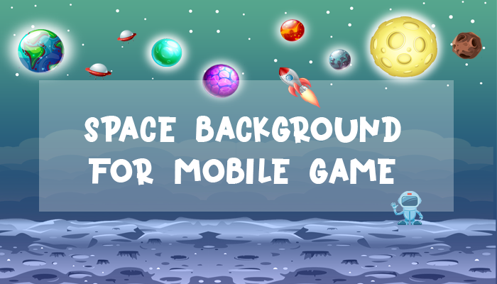 Space Background For Mobile Games