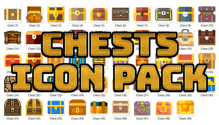 Chests Icon Pack