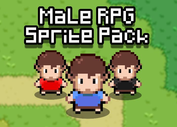 Male RPG Sprite Jumbo Pack