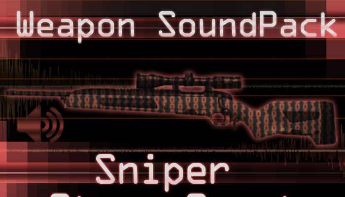 Weapon Sound Pack – Sniper: Steyr Scout