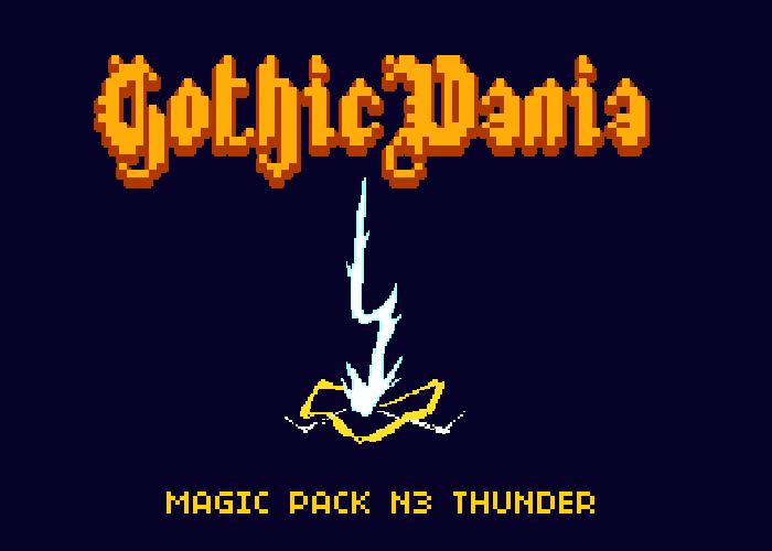 Gothicvania Magic Pack 3 Thunders
