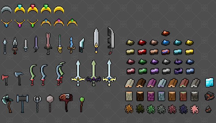 RPG / Fantasy Pixel Assets 900+