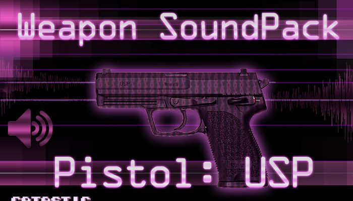 Weapon Sound Pack – Pistol: USP