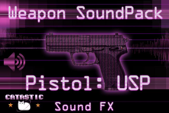 Weapon Sound Pack – Pistol: USP