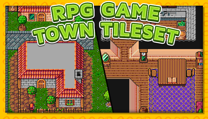 7Soul's RPG Graphics – Tiles – Town