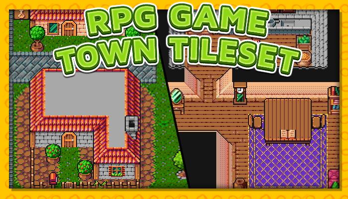 7Soul's RPG Graphics – Tiles – Town