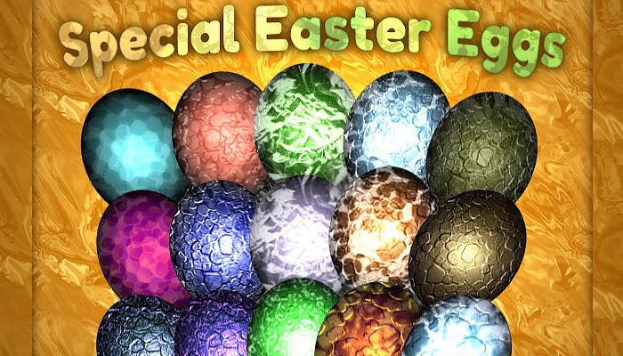Special Easter Eggs (50+ Items)