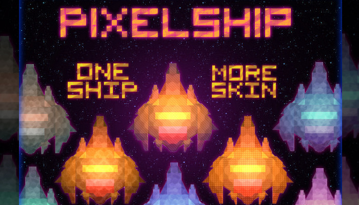 PixelShip – One Ship with Different Variations (50+ Items)