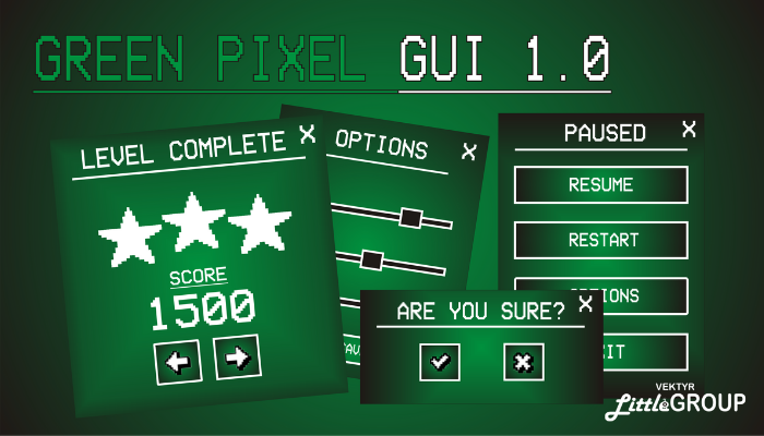 Green pixel GUI
