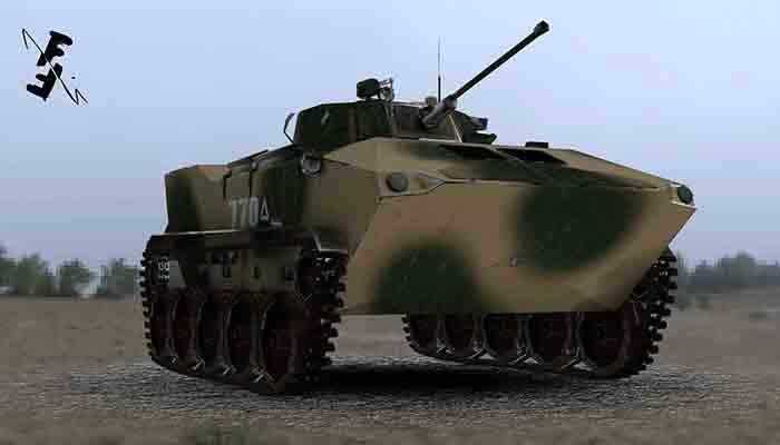 Tank BMD-4M