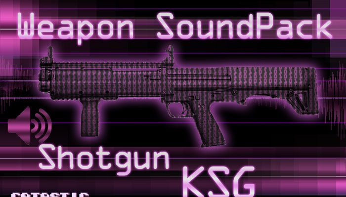 Weapon Sound Pack – Shotgun: KSG