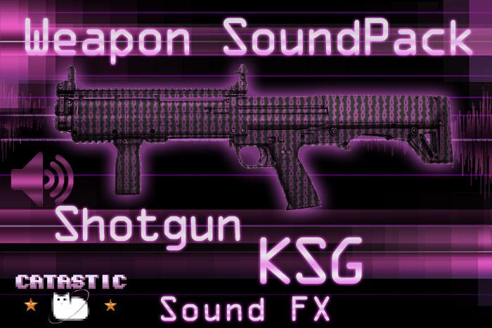Weapon Sound Pack – Shotgun: KSG