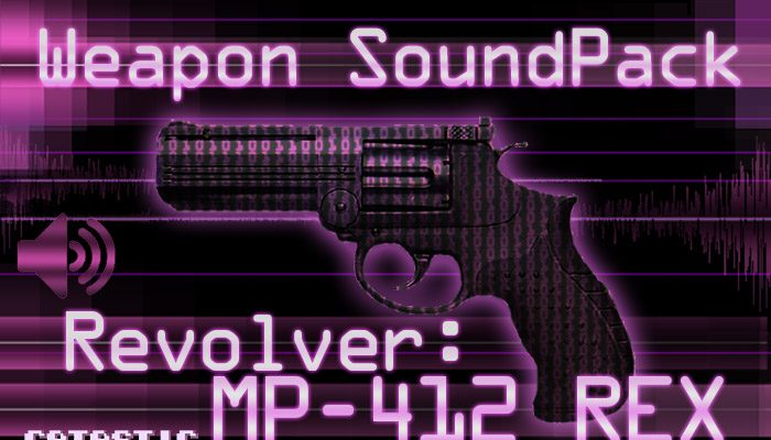 Weapon Sound Pack – Revolver: MP-412 REX