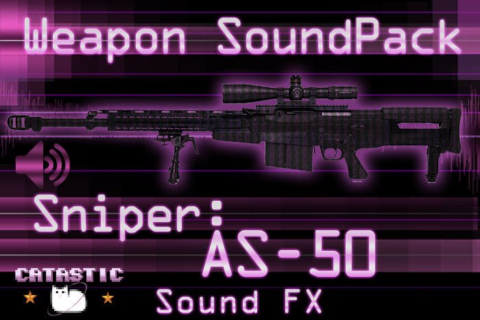 Weapon Sound Pack – Sniper: AS50