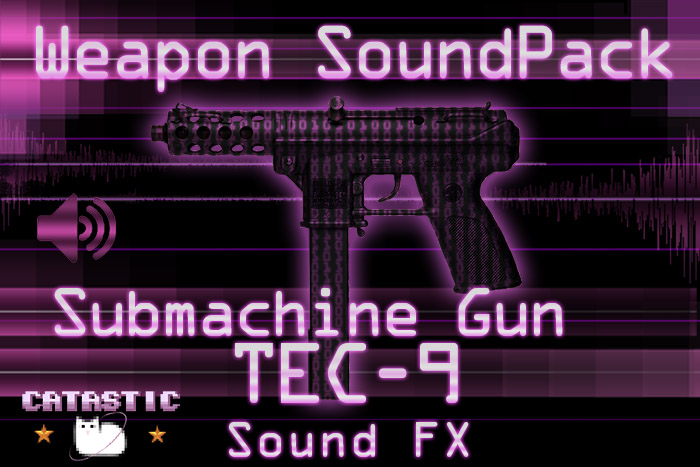Weapon Sound Pack – SMG: TEC-9