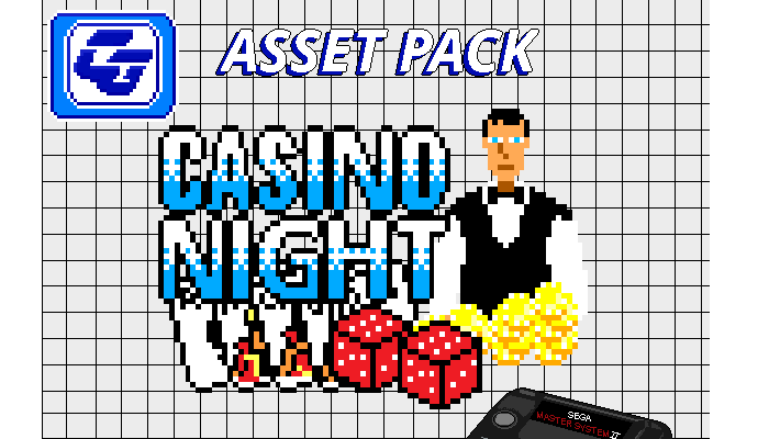 Asset Pack 'Casino Night' SMS