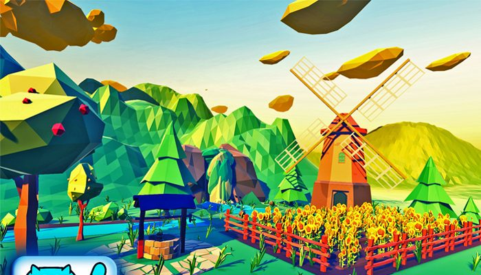 HappyLifeville. Low Poly Farm