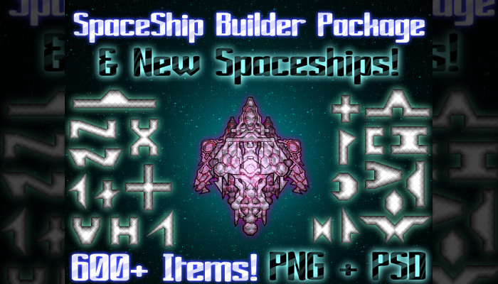 New Spaceships + Construction Options (600+ Items)