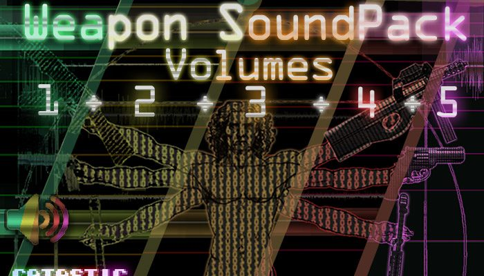 Weapon Sound Pack – Volume 1+2+3+4+5