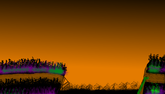Halloween Platformer Background